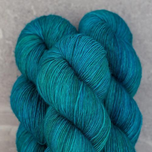 Madelinetosh Merino light Yarn Nassau Blue