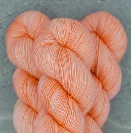 Madelinetosh Merino light Garn Pink Clay