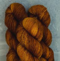 Madelinetosh Merino light Garn Rye Bourbon