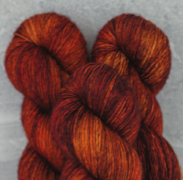 Madelinetosh Merino light Yarn Saffron