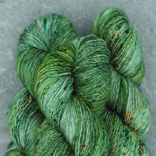 Madelinetosh Merino light Yarn Venti Dragon Mocha