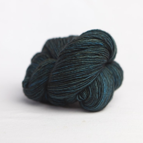 Madelinetosh Merino light Yarn Worn Denim