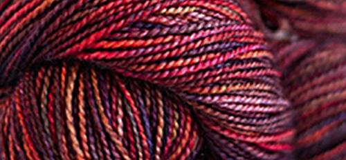 Madelinetosh Unicorn Tails Yarn Firewood