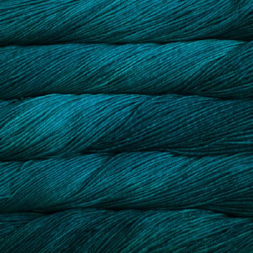 Malabrigo Arroyo Yarn Greenish Blue
