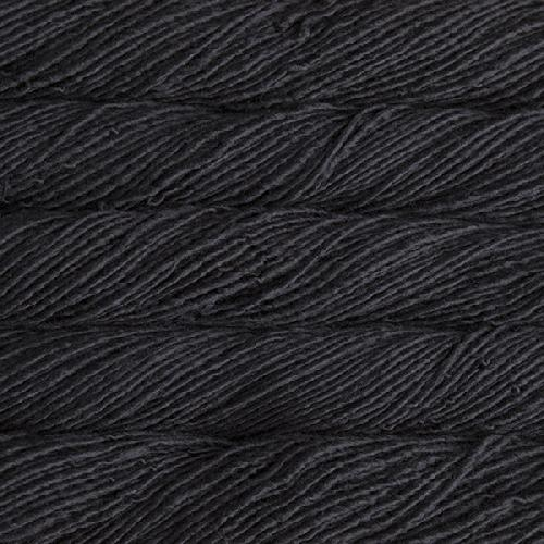 Malabrigo Mecha Yarn Black