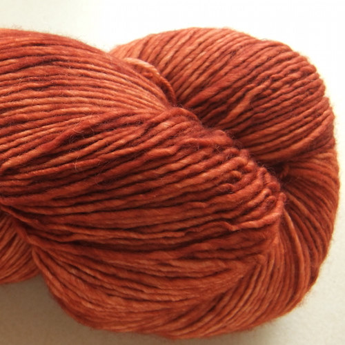 Malabrigo Mechita Garn Dried Orange