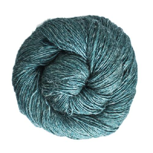 Malabrigo Susurro Garn Teal Feather