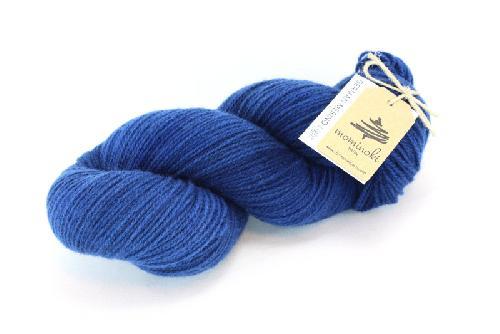Mominoki German Merino light Garn Japan Blue