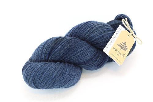 Mominoki German Merino light Yarn Night Blue