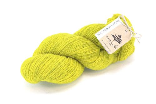 Mominoki German Merino light Yarn Smoky Yellow