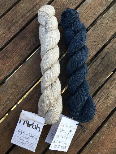 MYak Tibetan Cashmere Lace Yarn Natural