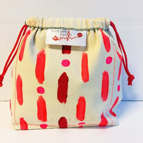 Oh Wow Amsterdam Bag Small Plus Bags Dots and Stripes red
