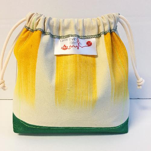 Oh Wow Amsterdam Bag Small plus Projektbeutel Yellow Stripes