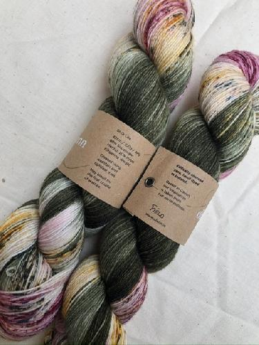 Olann Sock Lite Yarn Field