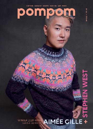 POMPOM POM POM Magazine Buch Issue 35