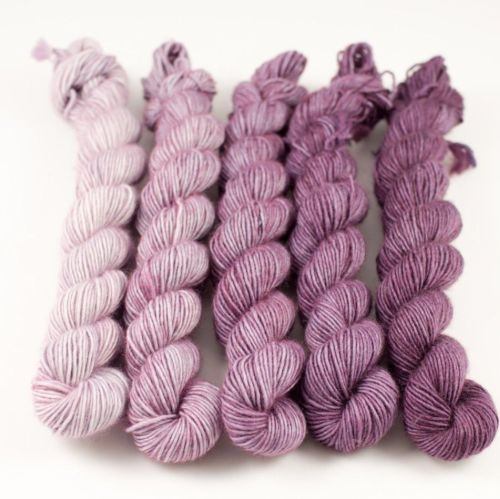 Snailyarn Gradients Garn Plum