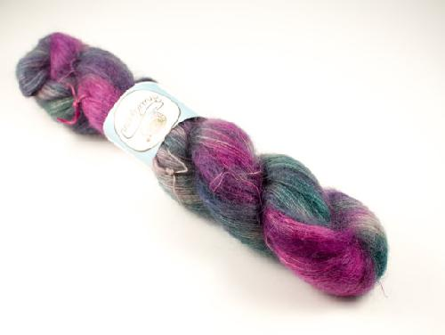 Snailyarn Silky Mohair Lace Yarn Crimson Queen