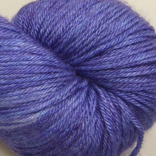 The Uncommon Thread Merino Silk Fingering Yarn Viola Odorata