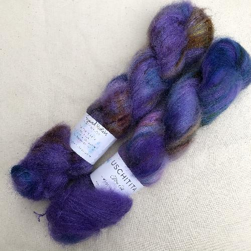 Uschitita Kidsilk Lace Yarn Sugared Violets