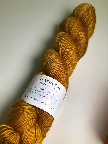 Uschitita Merino Singles Garn Butterscotch