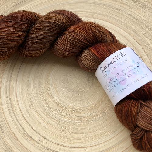Uschitita Merino Singles Yarn Squirrel Kids