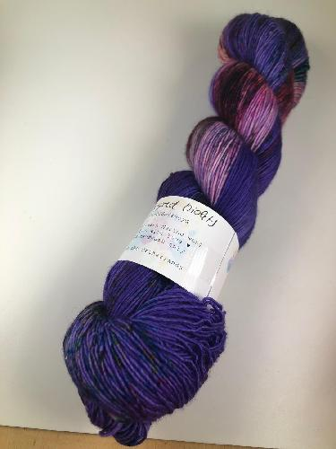 Uschitita Merino Singles Yarn Sugared Violets