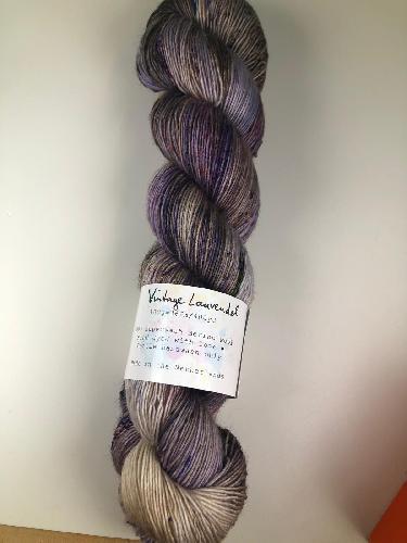 Uschitita Merino Singles Garn Vintage Lavendel