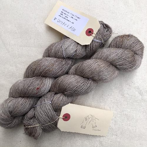 Wishbone Flax Flower Yarn Smoke & Ash