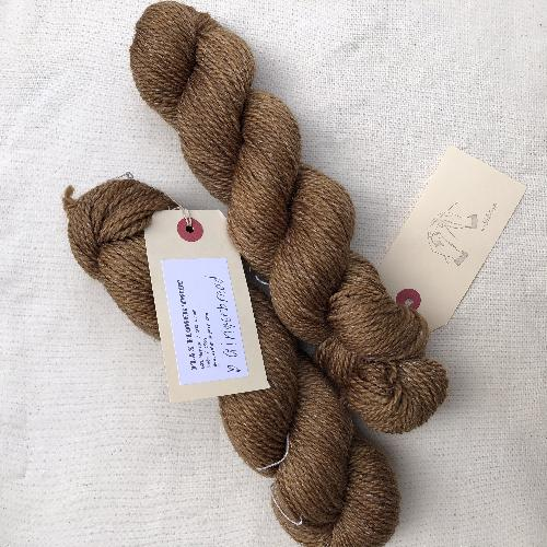 Wishbone Flax Flower Twist Garn Gingerbread
