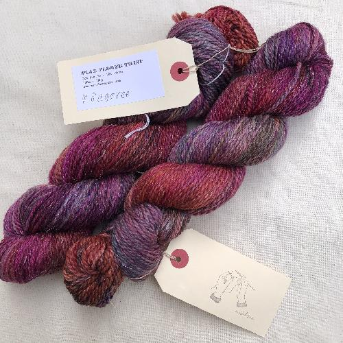 Wishbone Flax Flower Twist Yarn Sugaree